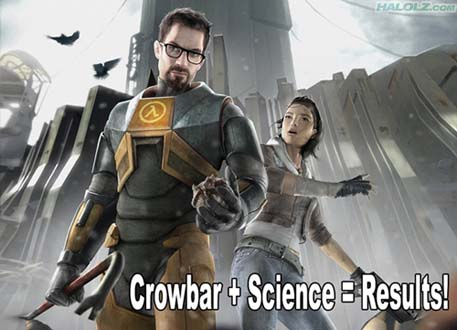 Crowbar + Science = Results!