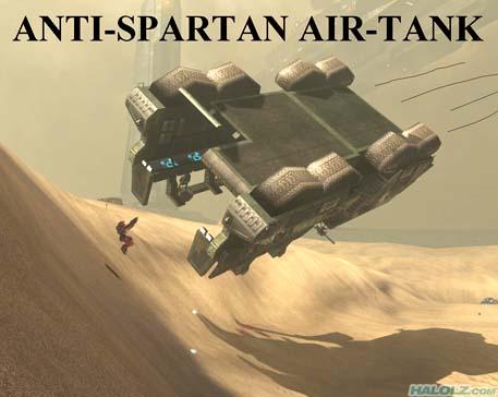 ANTI-SPARTAN AIR-TANK