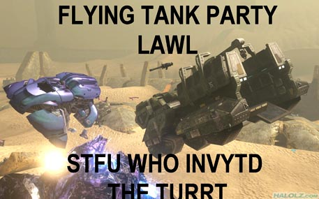 FLYING TANK PARTY LAWL