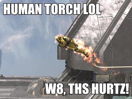 HUMAN TORCH LOL