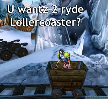 U wantz 2 ryde Lollercoaster?