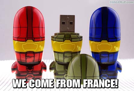 WE COME FROM FRANCE!