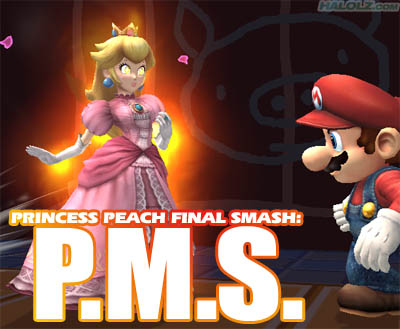 PRINCESS PEACH FINAL SMASH
