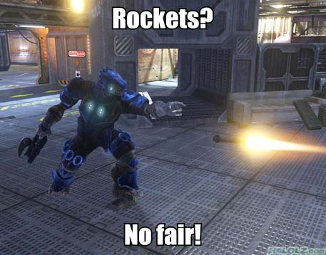 Rockets? No fair!