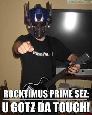 ROCKTIMUS PRIME SEZ: