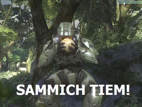 SAMMICH TIEM!