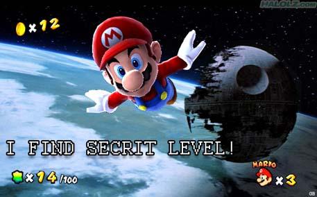 I FIND SECRIT LEVEL!