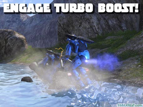 ENGAGE TURBO BOOST!