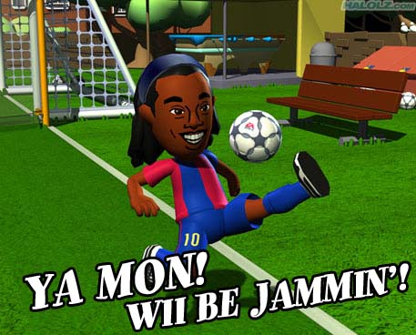 YA MON! WII BE JAMMIN'!