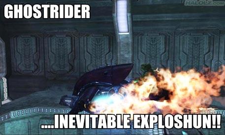 GHOSTRIDER …INEVITABLE EXPLOSHUN!!
