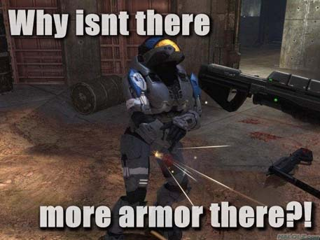 Why isn't there more armor there?!