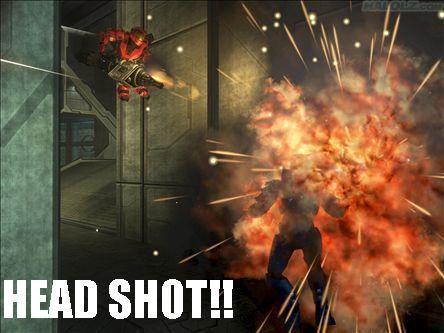 HEAD SHOT!!