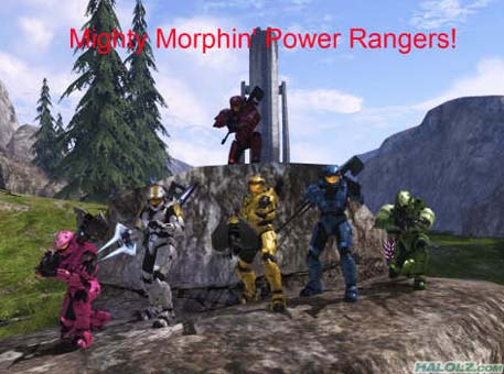 Mighty Morphin' Power Rangers!