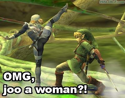 OMG, joo a woman?!