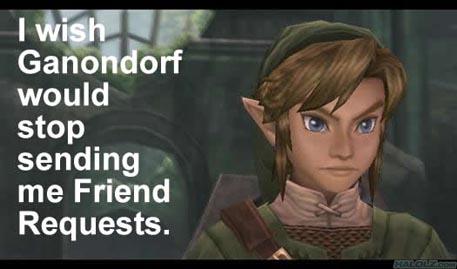 I wish Ganondorf would stop…