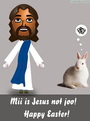 Mii is Jesus not joo!