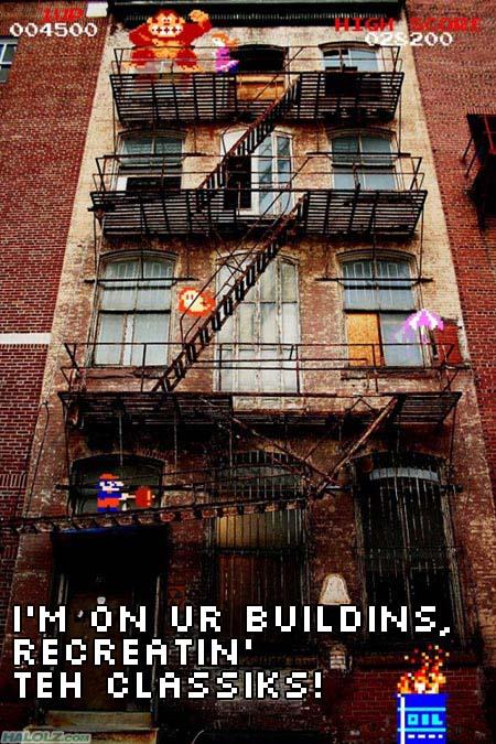 I'M ON UR BUILDINS