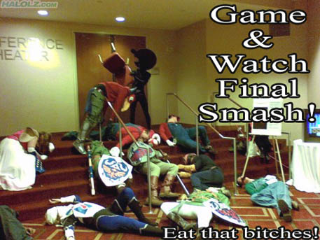 Game & Watch Final Smash!