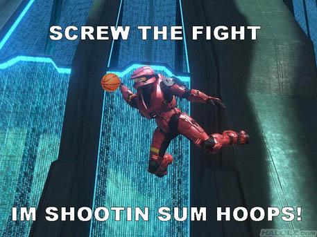 IM SHOOTIN SUM HOOPS!