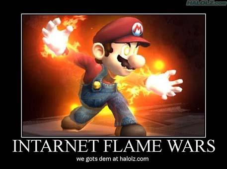 INTARNET FLAME WARS