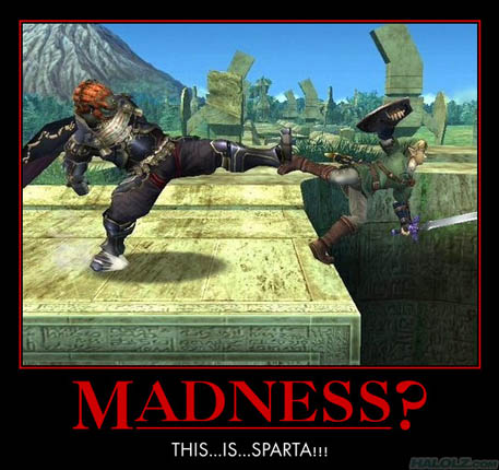 MADNESS? THIS…IS…SPARTA!!!
