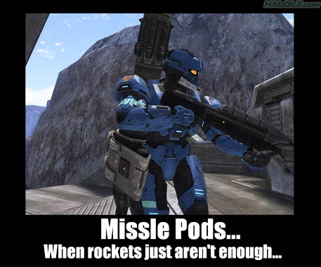 Missle Pods…