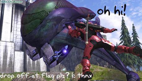 drop off at flag plz? k thnx
