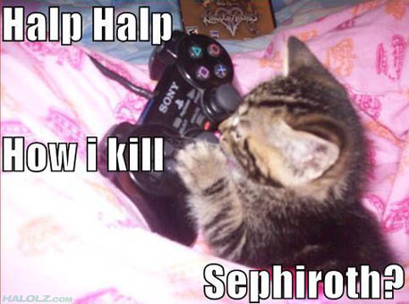 How i kill Sephiroth?