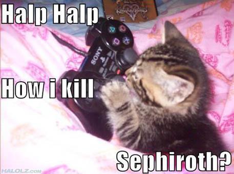 How i kill Sephiroth?
