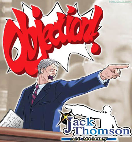 Jack Thomson, Ace Attorney