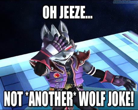 NOT *ANOTHER* WOLF JOKE!