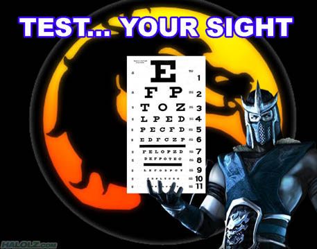 TEST… YOUR SIGHT