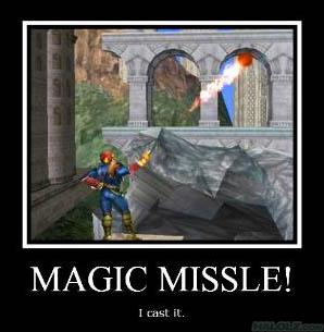 MAGIC MISSLE!