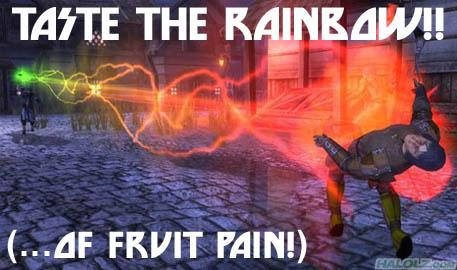 TASTE THE RAINBOW!!