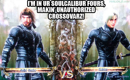 I'M IN UR SOULCALIBUR FOURS