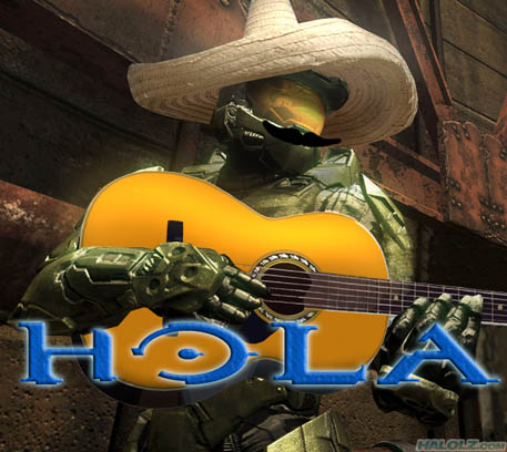 I have come at last... Hola
