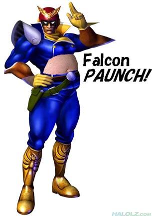 Falcon PAUNCH!