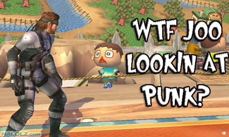 WTF JOO LOOKIN AT PUNK?