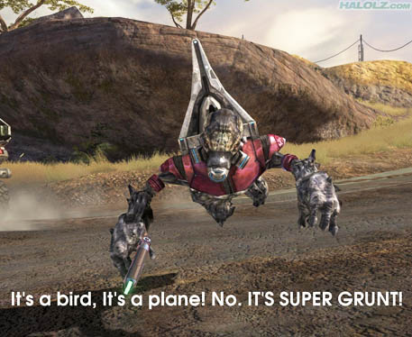 IT'S SUPER GRUNT!