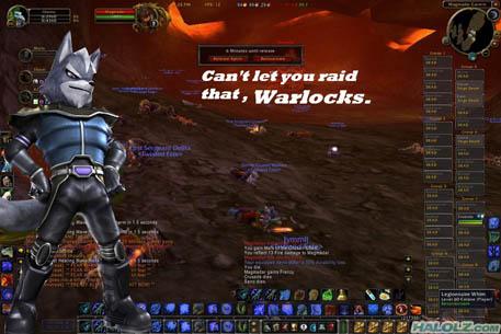 Can't let you raid that, Warlocks.