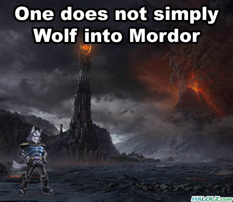 One does not simply Wolf into Mordor