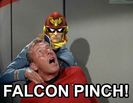 FALCON PINCH!