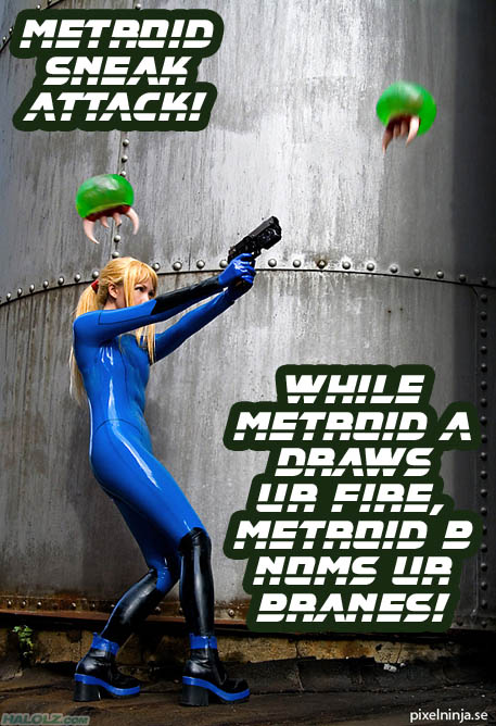 METROID SNEAK ATTACK!