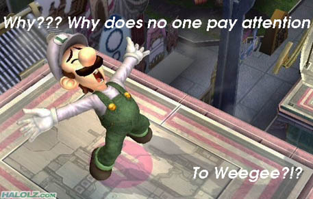 Why??? Why does no one pay attention To Weegee?!?