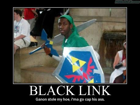 BLACK LINK - Ganon stole my hoe, i'ma go cap his ass.