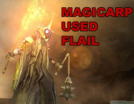 MAGICARP USED FLAIL