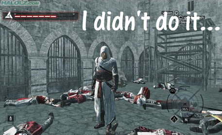 I didn't do it…