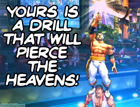 YOURS IS A DRILL THAT WILL PIERCE THE HEAVENS!