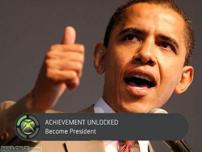 ACHIEVEMENT UNLOCKED - Become President