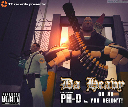 TF records presents: Da Heavy FEATURING PH-D in OH NO YOU DEEDN'T!